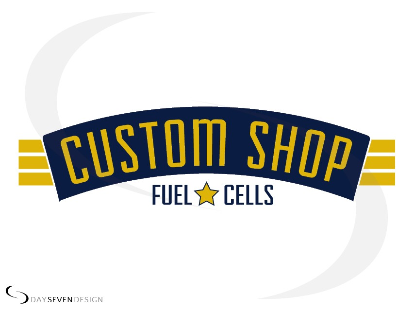 logo custom shop fuel cells
