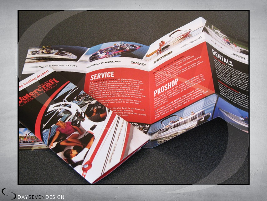 watercraft brochure